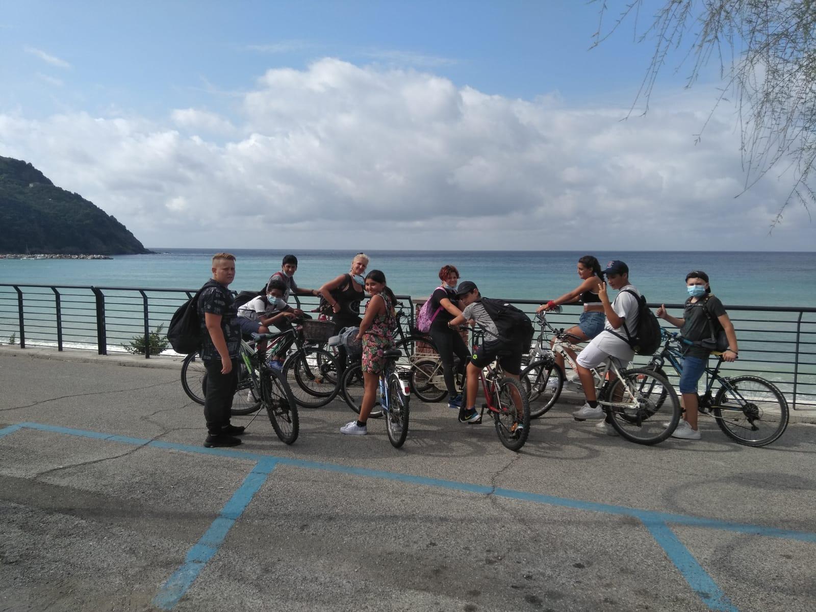 Gita in bici da Levanto a Bonassola